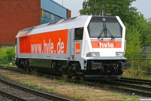 HVLE V 490. Hamburg-Süd 08.05.2009.