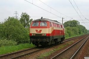 EVB 420 01 (ex DB 219 001). Hamburg-Moorburg 08.05.2009.