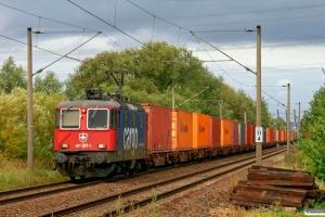 SBBC Re 421 397-1. Hamburg-Moorburg 15.09.2012.