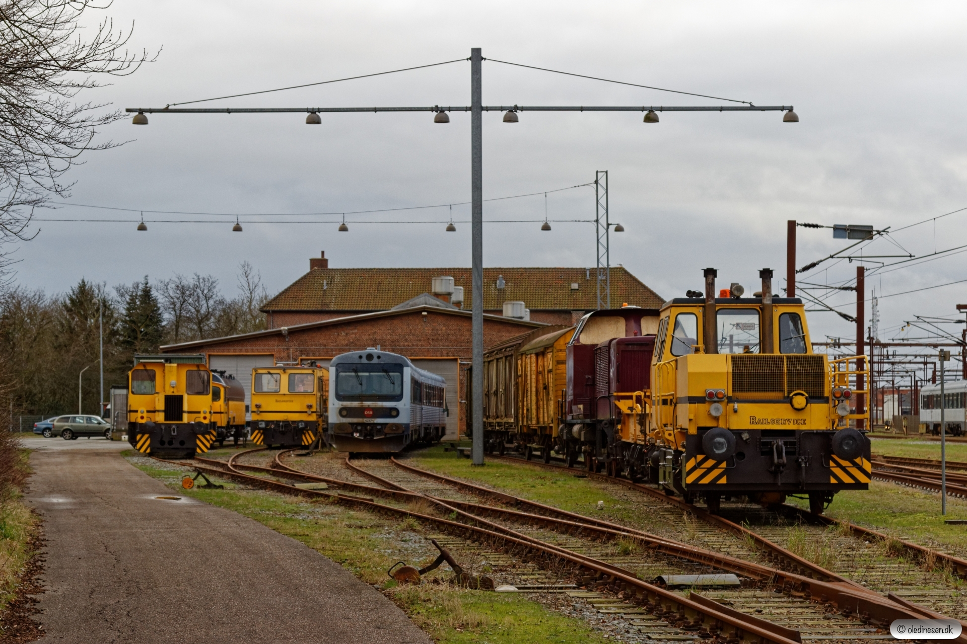 RSEJ 323 289-9, TR 70009, Trolje 412, MR/D 37, DSM 562 og M 10. Padborg 19.02.2020.