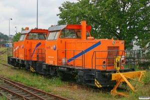 NRAIL 322 220 125 (92 86 0322 125-2 DK-RSEJ) og NRAIL 322 220 123 (92 86 0322 123-9 DK-RSEJ). Kolding 28.07.2012.