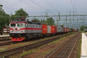 TÅGAB Rc2 002 med GT 48502. Kil 11.06.2014.