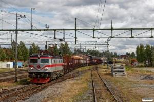 TÅGAB Rc2 008 med GT 48602. Ljusdal 18.06.2018.