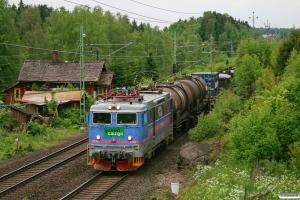GC Rc2 1128 med GT 43100. Sävsjö - Bodafors 08.06.2012.