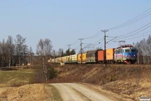 NRFAB Rc4 1144 - Udlejet til GC - med GT 4590. Långsele - Österås 04.05.2016.