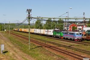GC Rc4 1153+Rd2 1106 med GT 42300. Långsele 14.06.2017.