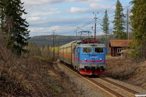 GC Rc4 1157 med GT 4051. Backsjön - Selsjön 03.05.2016.