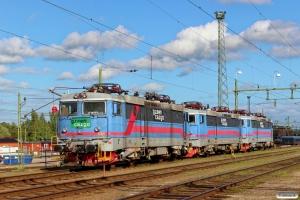 GC Rc4 1180, Rc4 1173 og Rc4 1138. Eskilstuna 07.06.2015.
