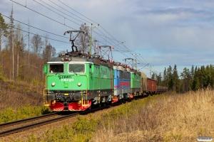 GC Rc4 1274+Rc4 1140+Rc4 1196 med GT 9118. Helgum - Långsele 03.05.2016.