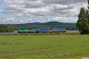 GC Rc4 1313 med GT 66768. Arbrå - Vallsta 18.06.2018.