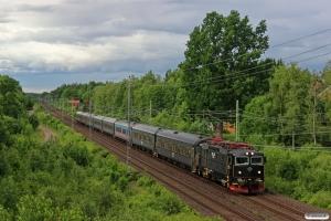 SJ Rc6 1374 med RST 207. Grimstorp - Bodafors 13.06.2014.