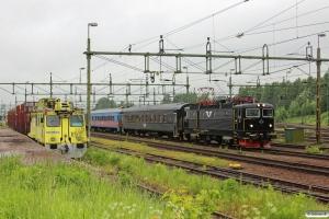 SJ Rc6 1414 med RST 352. Kil 13.06.2013.