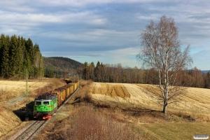 GC Rd2 1074 med GT 9603. Långsele - Solleftea 03.05.2016.