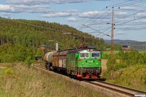 GC Rd2 1129 med GT 5995. Österås - Långsele 13.06.2017.