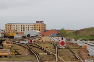 Sporskiftet til spor 36 eksisterer endnu… Odense 26.04.2015.