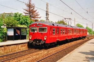 DSB MM 7729+FS 7229. Fuglebakken 03.07.1991.