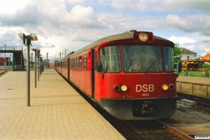 DSB ML 4903+FL 7905+FL 7903+ML 4902 som PL 2918 Hi-Hg. Hillerød 26.05.2006.