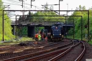 SES 92 80 1293 005-5. Drænarbejde i Km 161,6 Kh (Odense-Holmstrup) 15.05.2015.