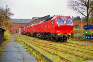 NSB Di6.661, Di6.670 og Di6.672. København 27.11.1999.