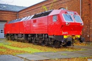 NSB Di6.672. København 27.11.1999.