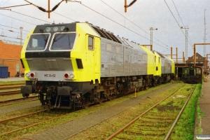 Siemens ME 26-02 (ex. NSB Di6.662)+ME 26-09 (ex. NSB Di6.669). Padborg 28.04.2000.
