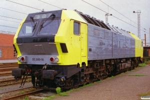Siemens DE 2650-04 (ex. NSB Di6.664). Padborg 28.07.2000.