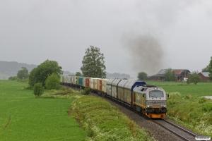CN 312 003 med Gt 5795 (Trondheim S-Bodø). Røstad - Østborg Bp 13.06.2017.