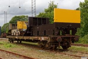Rammen fra ENT 80 86 980 3 133-9 og 80 86 980 3 145-3 læsset på DSB Rs 11 86 390 0 216-1. Fredericia 05.08.2017.