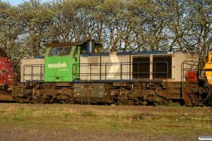 Vossloh G1000BB (1001444). Odense 29.04.2011.