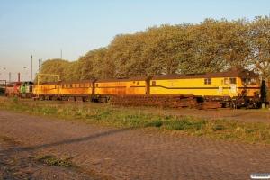 Contec MY 1154+Vossloh G1000BB (1001444)+SPENO DX 79214+DX 79213+DX 79212+DX 79211. Odense 29.04.2011.