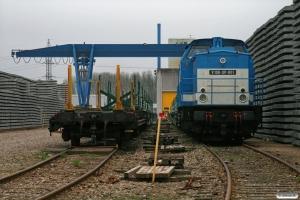 SLG V 100-SP-001 på svellefabrikken. Fredericia 04.04.2009.