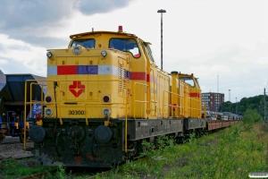 SRM 303003+303005. Lersøen 13.08.2008.