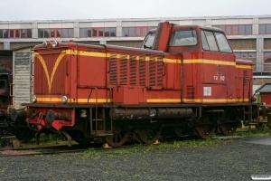 SJ T21 110. Nässjö 12.09.2010.