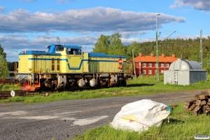 BL Rail T43 214. Långsele 08.06.2015.