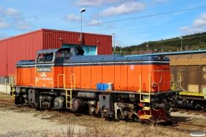 HCTOR 841.001 (ex. T43 216). Ånge 02.05.2016.