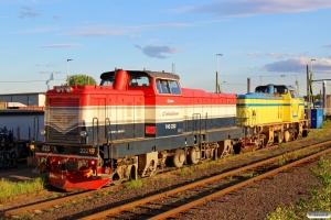 IBAB T43 222 og T43 213. Borlänge 12.06.2015.