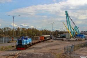 TÅGAB T43 113 (ex. T43 254) med trafo transport. Norrköping 01.05.2016.
