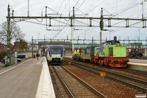 BV T43 257 M med GT 48424 og TKAB X52 9017 som RST 7570. Hallsberg 15.04.2009.