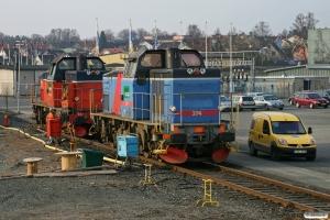 GC T44 374 og T44 347. Nässjö 14.04.2009.