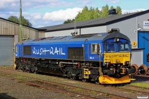 RUSH T66 402. Borlänge 11.06.2013.