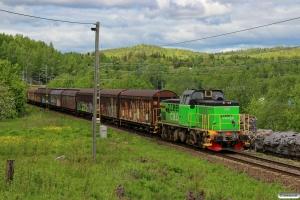 GC Td 360 med GT 6943. Timrå - Skönvik 08.06.2015.