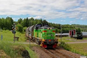 GC Td 362 med GT 6701. Björbo - Dala-Floda 11.06.2013.