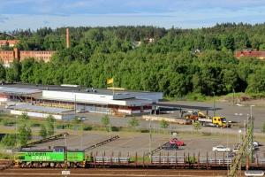 GC Td 382 med GT 6351. Nässjö 13.06.2014.