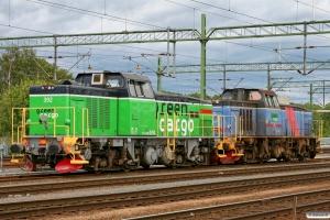 GC Td 392 og T44 271. Göteborg Skandiahamnen 03.06.2012.