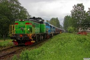 GC Td 392+NRFAB TMX 1024 med GT 49200. Hult - Eksjö 13.06.2014.
