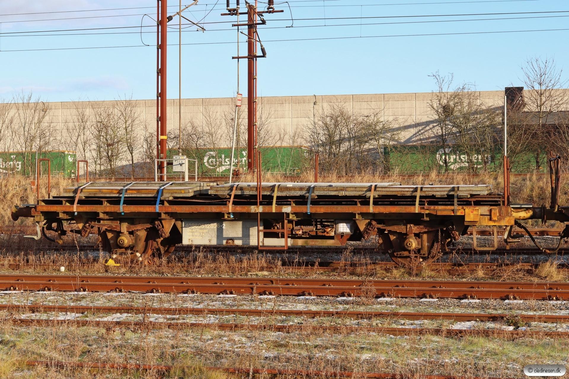 DSB 40 86 951 2 896-2. Fredericia 16.01.2021.
