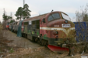 STT TMX 1012, TMZ 1402, TMZ 1424 og T43 211B. Vetlanda 14.04.2009.