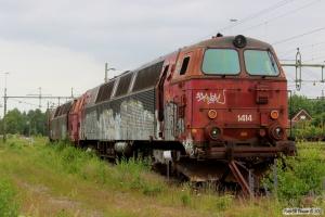 BLSR TMZ 1414 og TÅGAB TMZ 1402. Kristinehamn 11.06.2014.