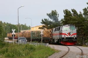 TÅGAB TMZ 108 med GT 48106. Västervik 07.06.2012.