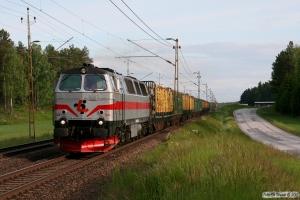 TÅGAB TMZ 108 med GT 48608. Boxholm - Mjölby 07.06.2012.